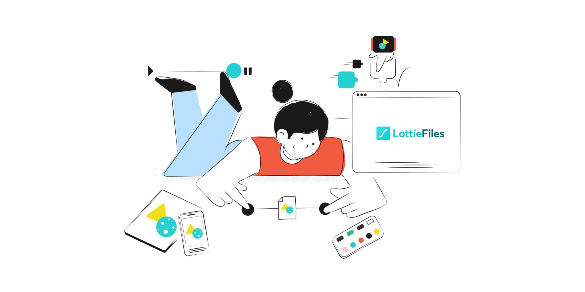 Lottie, le nouveau format qui booste la créativité des web designers