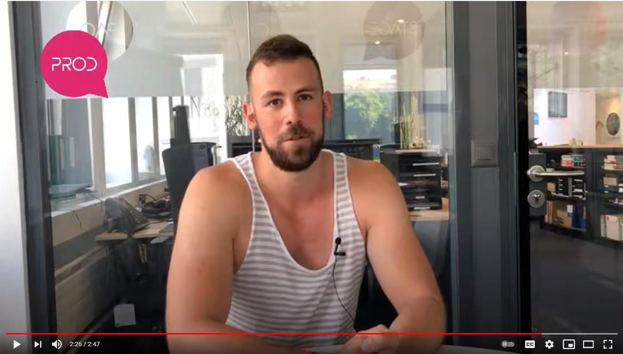 Interview de Raphaël en formation After Effects et Premiere Pro