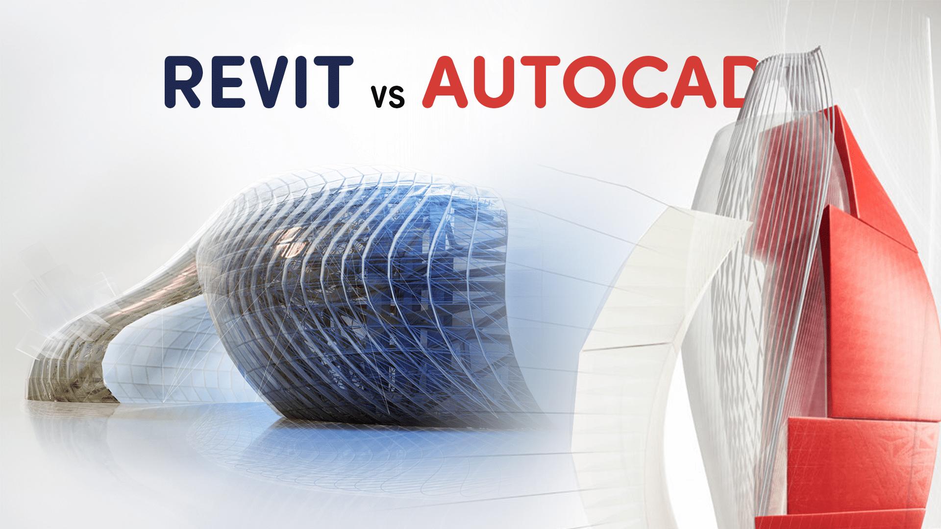 Quelle est la différence entre AutoCAD et Revit?