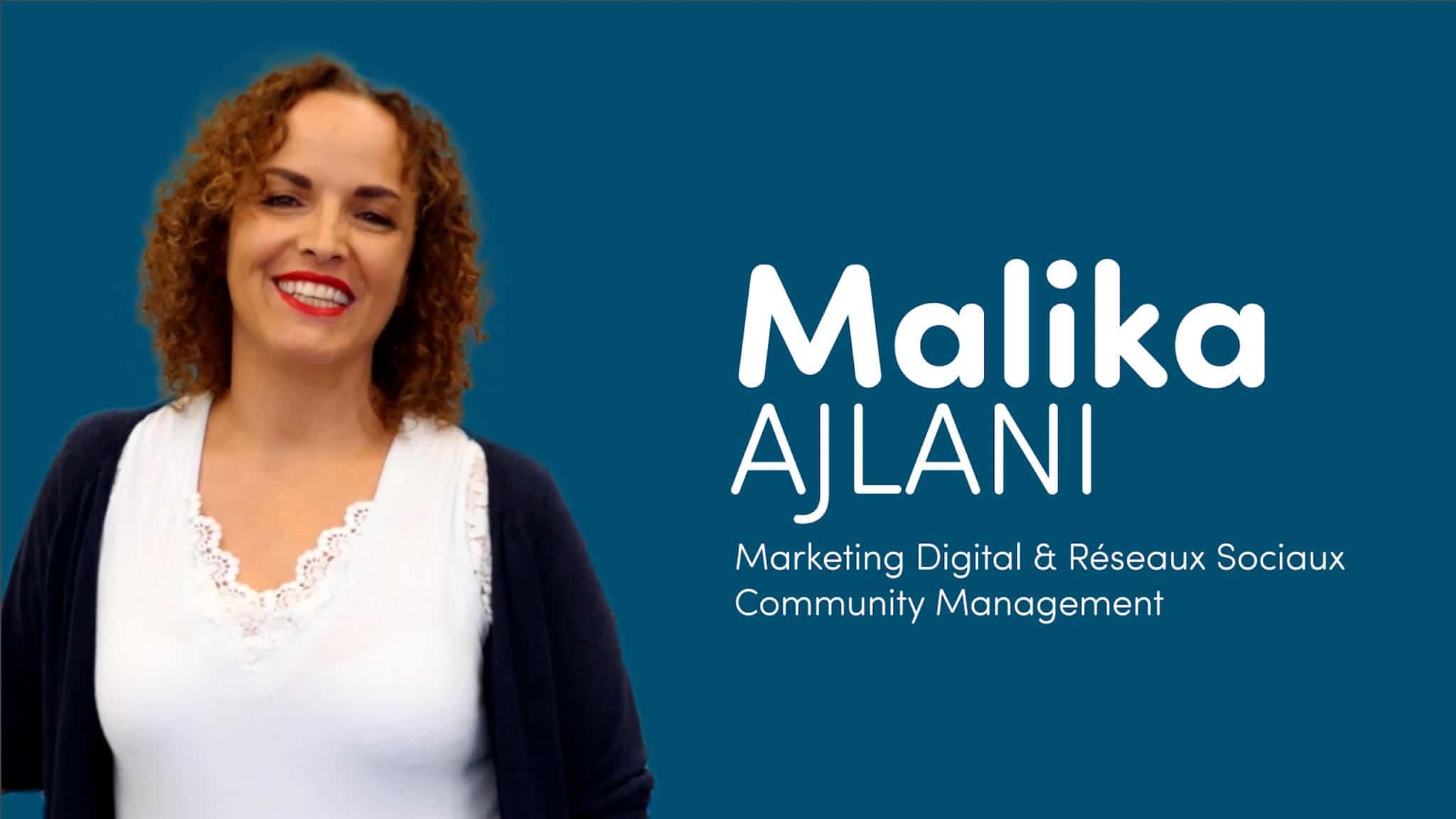 Interview de Malika Ajlani – Créatrice d'événements