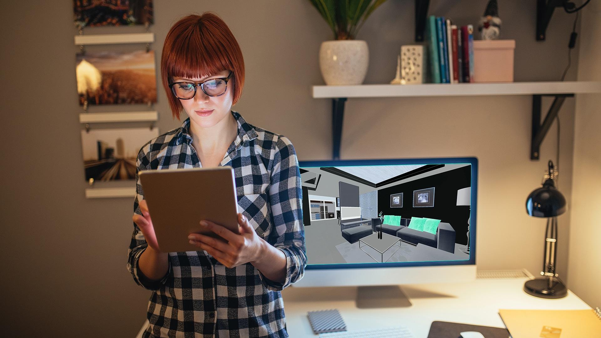 SketchUp Pro est idéal pour la conceptualisation d'espaces à vivre